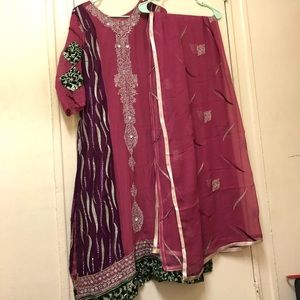 Tops - 3-piece Indian Dress